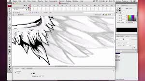 wing sketch to vector speed drawing youtube