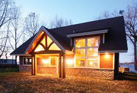 Colorado Small House Upland Retreat Luxury Log Home Plan Timber Frame Plans Colorado