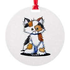 calico cat ornament cafepress