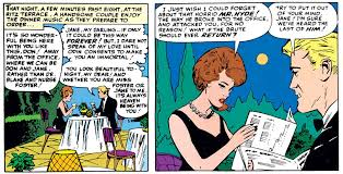 Don  amp  Jane on a date  Classy yet relatable  the characters and setting make the scene successfully romantic   and all in the midst of a superhero yarn