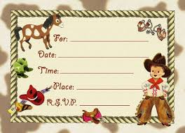 western tots cowboy party invitations party pack dolce mia