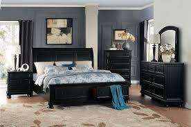 homelegance laurelin sleigh platform storage bedroom set black homelegance laurelin sleigh platform storage bedroom set black sand thru