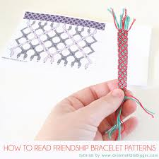 patterns bracelet images How to read friendship bracelet patterns dream a little bigger jpg