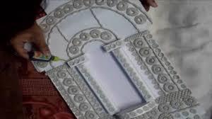 Designing A Wall Mural Jharokha Mural Work A Rajasthani Window Design Art Part 1 Youtube