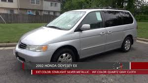 honda odyssey test drive 2002 honda odyssey ex walkaround review and test drive