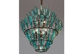 turquoise chandelier chandeliers metal more