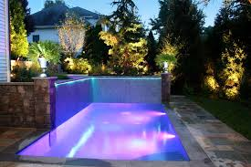 fiber optic and led landscaping and pool lighting ideas paramus nj