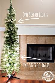 christmas lights sizes comparison to make your christmas tree look fuller