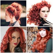 Warm Tone Hair Color Spring Hair Color Inspiration And Formulation Fiery Rose Stylenoted