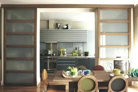 ouvrir cuisine portes coulissantes cuisine ouvrir la cuisine sur le salon avec