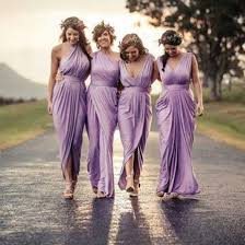bridesmaid dresses for summer wedding aliexpress buy 4 styles light purple pleats chiffon