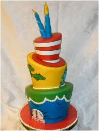 dr seuss birthday cakes happy birthday dr seuss blue black ink