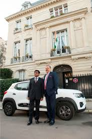 renault france image 1 l r dr mohan kumar ambassador of india in france and