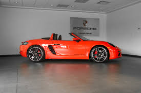 porsche boxster 2017 2017 porsche boxster 718 s for sale in colorado springs co 17245
