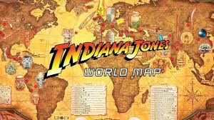Framed Maps Of The United States by Creating The Indiana Jones World Map Youtube