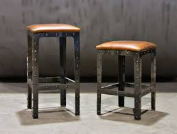 hand made industrial pub height table u0026 bar stools by basin custom