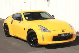 nissan yellow 370z coupe northern nissan