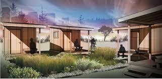 Pod Houses Designs For Homeless U0027sleeping Pods U0027 On Display At City Hall