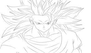 goku dragon ball coloring free printable coloring pages