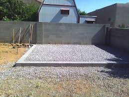 Gravel For Patio Base Ideas For Elevated Gravel Shed Base Perimeter Doityourself Com