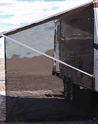 Trailer Awning Amazon Com Tentproinc Rv Awning Side Sun Shade Net 9 U0027 7 U0027 Black