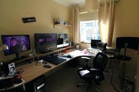 gaming office setup gaming office desk atken me