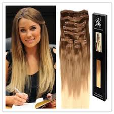 ombre hair extensions clip in remy hair clip in ombre color human hair extension jpg