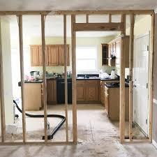 home renovation home renovation update three tearing down the wall whitney blake
