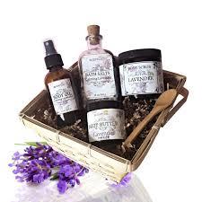 organic spa gift baskets organic lavender gift basket organic spa set beauty gift