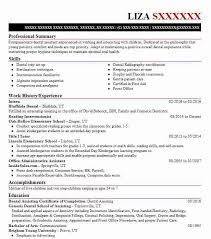 5 dental resume examples in draper ut livecareer