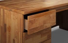 Schreibtisch Echtholz Statua Aus Massivholz U2013 Schreibtisch