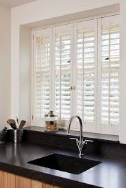 Kitchen Window Treatment Ideas Pictures by Best 25 Interior Window Shutters Ideas On Pinterest Indoor