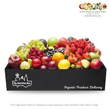weekly fruit delivery organic fruit vegetables delivered ta my nutrition box