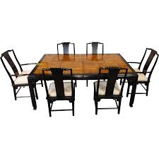 asian style dining room furniture 1980s century furniture raymond k sobota chin hua collection