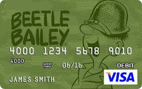 free debit cards personalized visa prepaid debit cards featuring popeye olive oyl