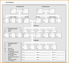 12 free genogram template loan application form