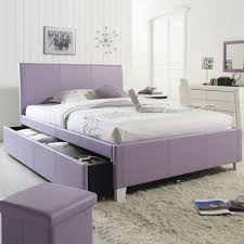 Queen Bed Frame With Twin Trundle by Twin Upholstered Youth Trundle Bed By Standard Furniture Wolf