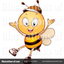 bee clipart 1070970 illustration by bnp design studio