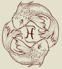 pisces tattoo sketch uploaded by kaileigh elizabeth