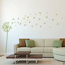 dandelion vinyl wall decal with 41 diy floating seeds for living dandelion vinyl wall decal with 41 diy floating seeds for living room more k577