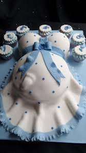 baby shower cakes for baby bump baby shower cake in blue and white baby shower