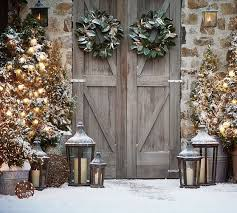 Pottery Barn Christmas Decor Ideas by 88 Best Luxe Lodge Christmas Images On Pinterest Christmas Ideas