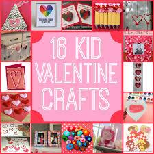 16 valentine kid crafts a little craft in your day