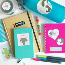 make your notebooks unique with cute back to supplies from