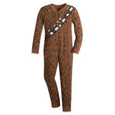 chewbacca costume one pj for wars shopdisney