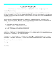 cover letter examples of cover letters for accounting positions