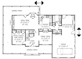 floor plans with porches plan 6527rf wrap around porch playrooms porch and bedrooms