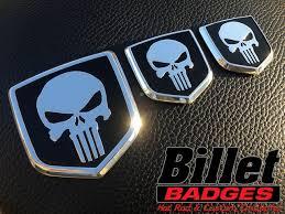 custom dodge ram badges ram style shield gallery billet badges inc