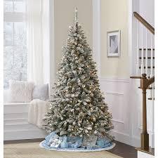 7 u0027 colorado flocked pine christmas tree u2014kmart christmas