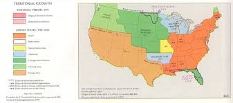 Cultural Regions Of The United States Map by The Expansion Of Slavery And The Missouri Compromise North